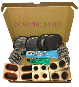 rema tip top tyre inner tube puncture repair kit patches. Black Bedroom Furniture Sets. Home Design Ideas