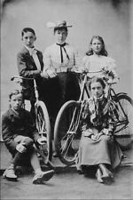 556096 Bicycle Group Photographer Unknown 171896 A4 Photo Print