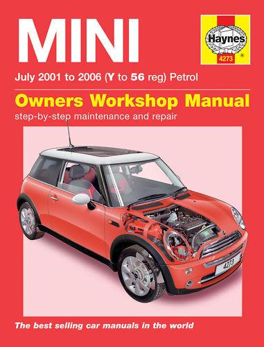 mini cooper s mini one 2001 2006 haynes manual 4273 ebay rh ebay co uk 2004 Mini Cooper Accessories Mini Cooper JDM