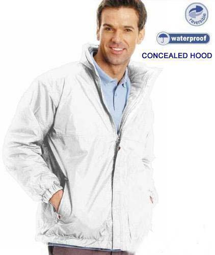 Unisex Bowls Wear Reversible 100/% Waterproof Jacket with Anti Pill Fleece