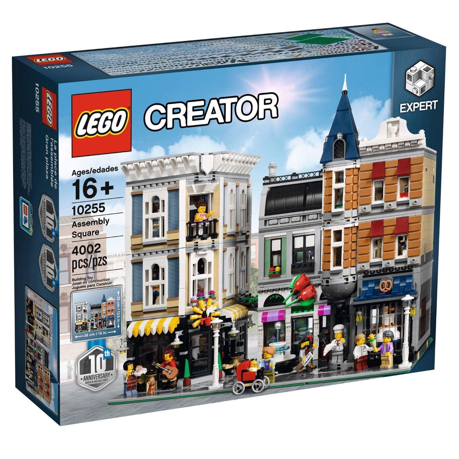Lego 10255 Creator Assembly Square modulaire  livraison gratuite  70% de réduction
