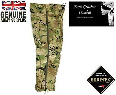Super Grade Police Waterproof Over Trousers Security Goretex Trousers Black