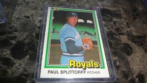 1981-DONRUSS-PAUL-SPLITTORFF-AUTO-BASEBALL-CARD