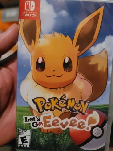 Pokémon: Let's Go, Eevee! + Steelbook (Nintendo Switch, 2018)