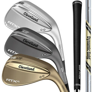 Cleveland RTX 4 Blade Wedges - Pick from 2019 Raw, Black, or Tour Satin