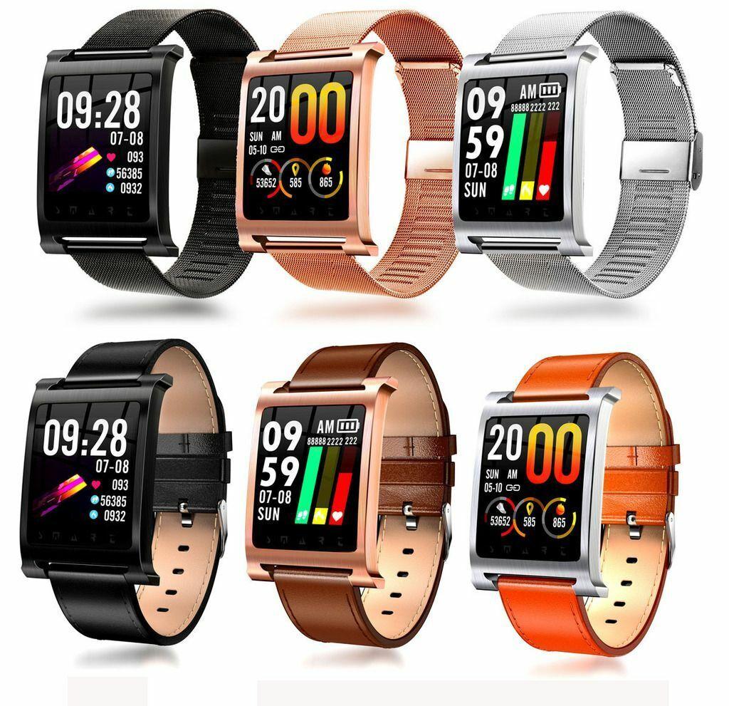 "1.3"" Touch Screen Bluetooth Smart Watch Sports Fitness Watch Heart Rate Monitor bluetooth fitness heart monitor rate screen smart sports touch watch"