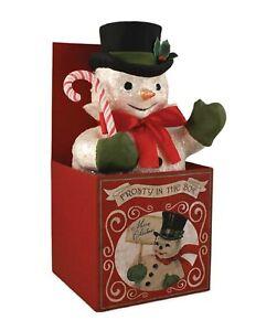 Bethany-Lowe-Frosty-In-Box-Snowman-TP5282-New-Retro-Look