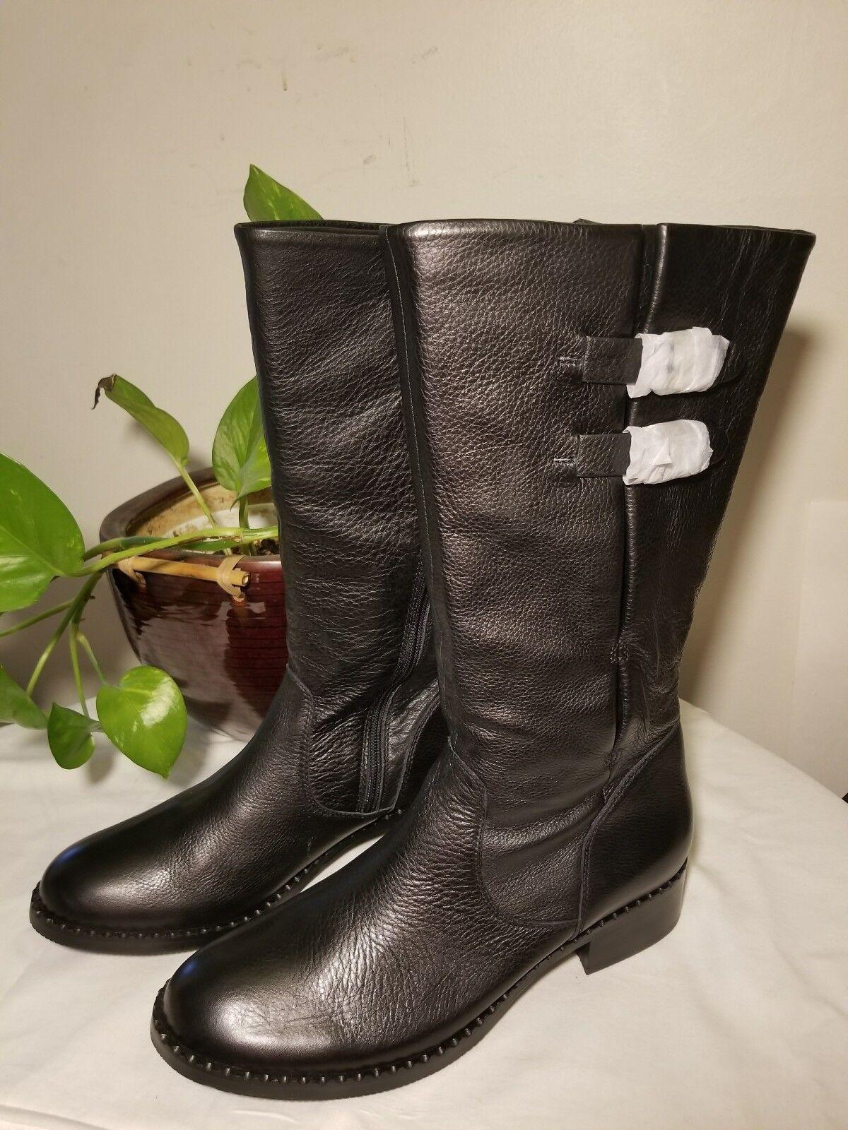 Gentle Souls By KENNETH COLE  Brian  noir leather calf démarrage sz 11M  299 retail
