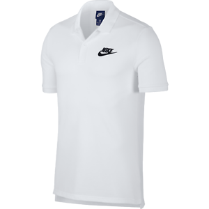 nike polo shirt white