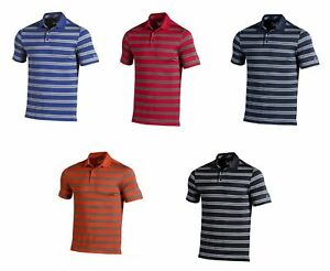 Under-Armour-Performance-Stripe-Polo-Golf-Shirt-Men-039-s-New-Choose-Color-amp-Size