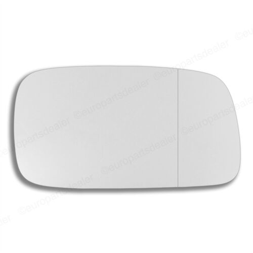 Right Driver side Wing door mirror glass for Saab 9-3 98-02 stick on Wide Angle