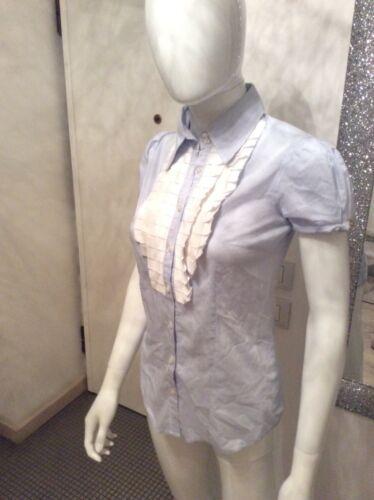 A Elisabetta Tg E Camicia Franchi 42 Bianca Rouge Azzurra Righe 40 Con cXBcWHOq