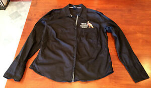 Rare-Wild-Turkey-Bourbon-Poker-Crew-Long-Sleeve-Shirt-Size-18