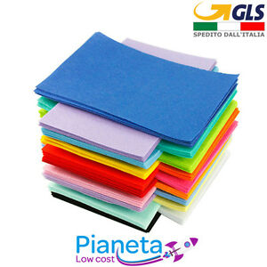 Pannolenci-Panno-lana-Lenci-feltro-colorato-Maxi-50x70cm-spessore-1-mm-20-colori