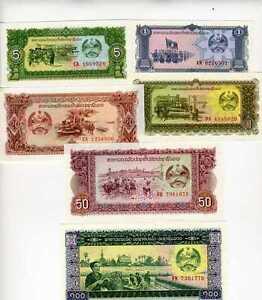 Pick 17 VG ND Lao // Laos Kingdom 1974 500