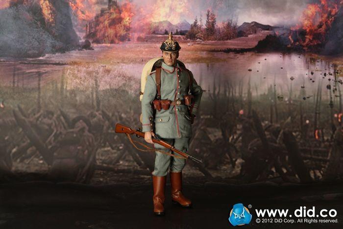Dragon Dragon Dragon en DREAMS DID 1/6 WW I alleFemmed Max Muller infanterie alleFemmede 1914-15 Box New b0d635