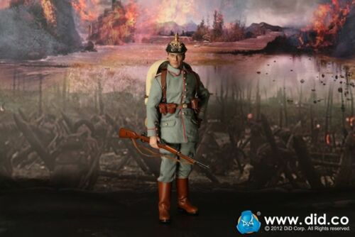 Dragon en DREAMS DID 1//6 WW I allemand Max Muller infanterie allemande 1914-15 Box New