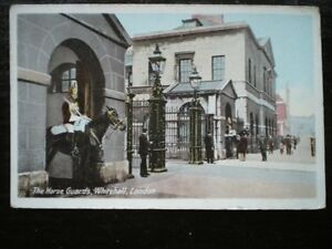 POSTCARD RP LONDON THE HORSE GUARDS  WHITEHALL C1915 - Tadley, United Kingdom - POSTCARD RP LONDON THE HORSE GUARDS  WHITEHALL C1915 - Tadley, United Kingdom
