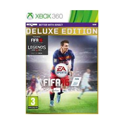 Xbox 360 - FIFA 16 (Deluxe Edition) - Includes Exclusive FUT Legends! *NEW*
