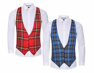 Robert-Burns-Night-Scotland-Tartan-Highland-Games-Backless-Waistcoat-Fancy-Dress