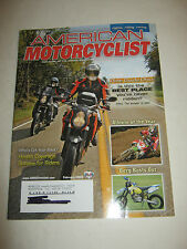 February 2008 American Motorcyclist Magazine, Ride Guide Ohio (BD-14)