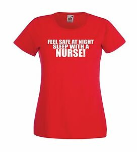 Image Is Loading SLEEP WITH A NURSE Funny Doctor Tee Xmas
