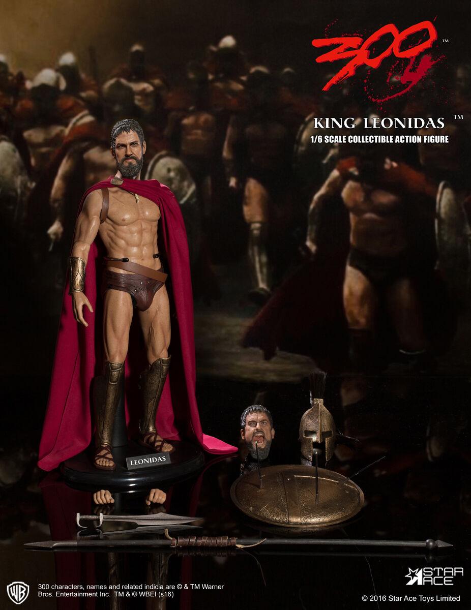 1/6 Star Ace Toys SA0030 300 Sparta Warrior King Leonidas 12