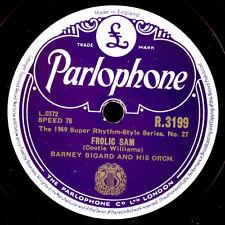 BARNEY BIGARD & HIS ORCHESTRA Frolic Sam / Lost... Schellackplatte 78rpm   X2562