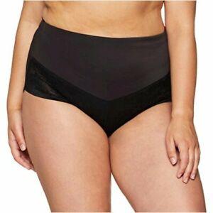 Women's Plus Size Curvy Firm Foundations at-Waist, Black, Size 3.0 yb