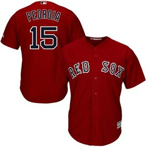 Dustin Pedroia #15 Boston Red Sox Red