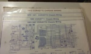 1963-67,69,70-71, 73 CORVETTE CHASSIS WIRING DIAGRAMS ...