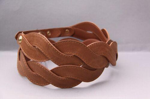Bonito trenzado cinturón talla 90 marrón de bodyflirt