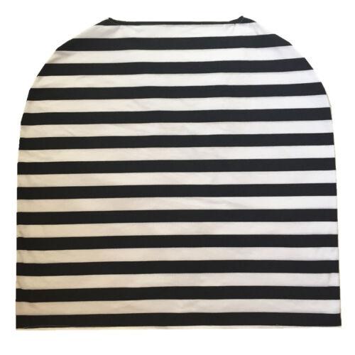4 in 1 Cotton Baby Car Seat Cover Nursing//Breastfeeding Scarf Stripe