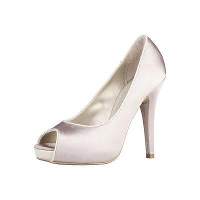 PRIMADONNA A11921CAROLTES_BONE Pumps, Peep Toes, High Heels, Damenschuhe, 37, 40