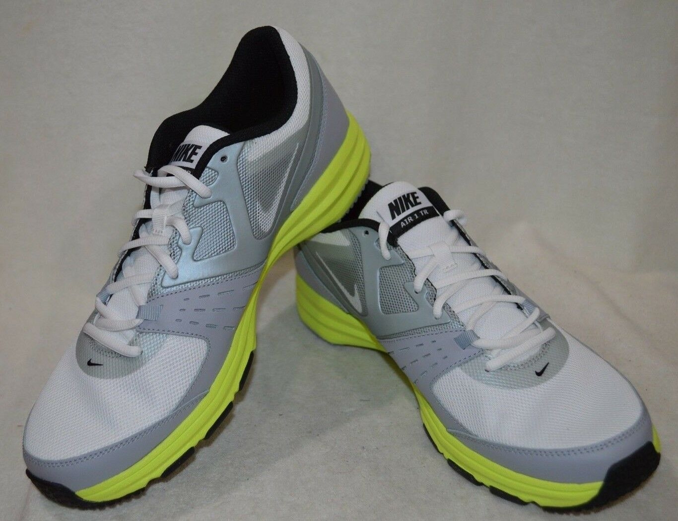 Nike air one in bianco   nero   grigio formazione scarpe da uomo - varie taglie nwb | Una Buona Reputazione Nel Mondo  | Uomini/Donne Scarpa