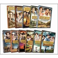 Gunsmoke Western Tv Series Complete Season 6-10 (6 7 8 9 10) 46-disc Dvd Set