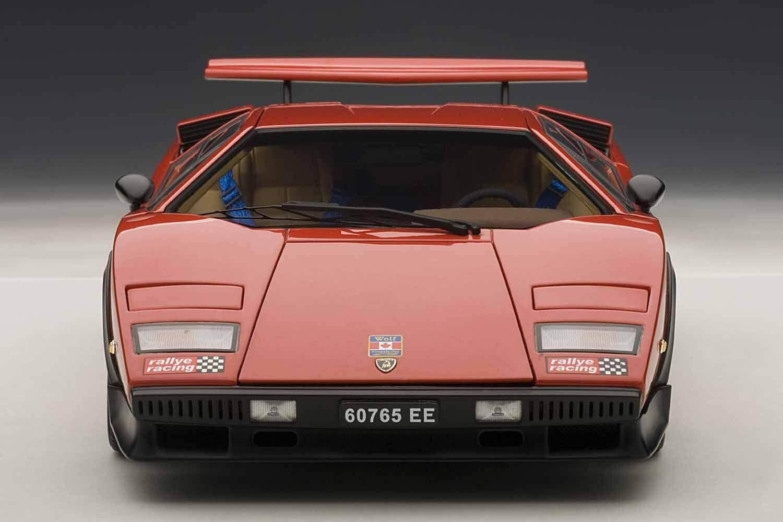Lamborghini Countach LP500S Walter Wolf Edition Couleur Rouge