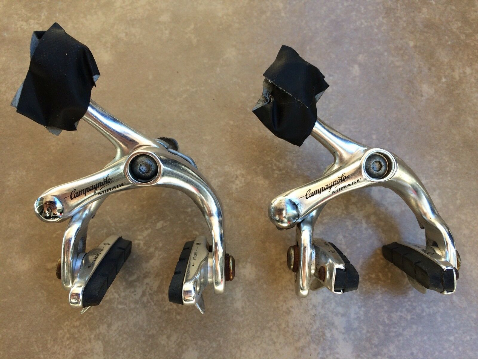 Vintage Campagnolo Mirage single pivot road brake set  front and rear  up to 60% off