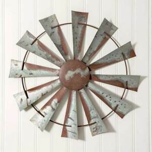 Image Is Loading Vintage Style 32 034 Windmill Wall Art Rustic