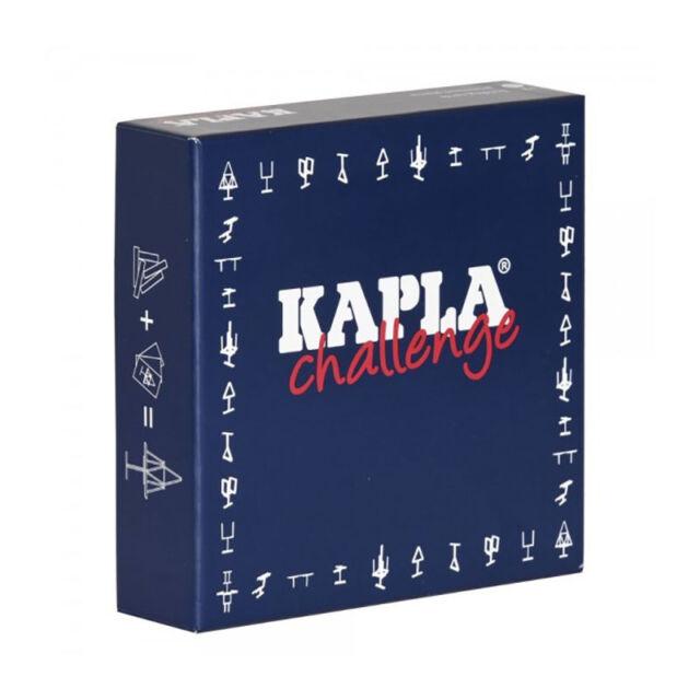 Kapla Challenge Box Pine Wood Building Bricks (Bd) New! #
