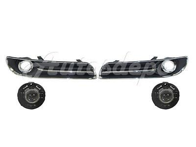 Garage-Pro Fog Light Trim for CHRYSLER 300 2011-2014 LH Outer Black with Chrome Trim