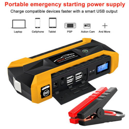 89800mAh Portable Car Jump Starter Power Bank Battery Charger Engine 12V AU