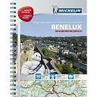Benelux and North of France A4 Spiral Atlas by Michelin Editions des Voyages (Spiral bound, 2014)