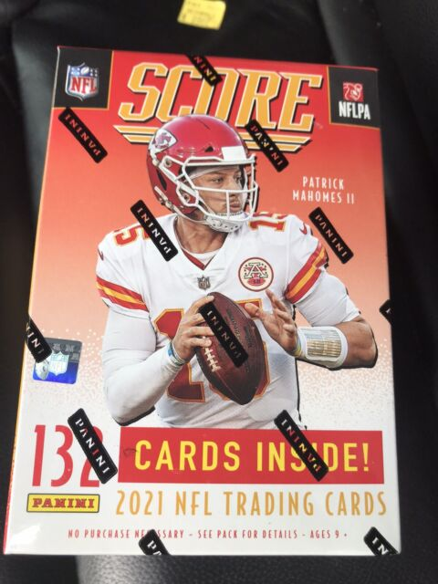 2021 Panini SCORE Football 🔥 BLASTER Box SEALED 132 CARDS -SHIPS FAST- IN HAND!