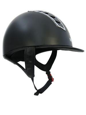 Il Migliore Adulti Equitazione Concorso Che Mostra Jumping Teschio Cappello Casco Taglia 49cm-61cm-