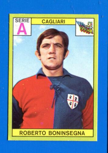 Footballers Panini 1968-69 Figurine-Sticker-BONINSEGNA-Cagliari Rec