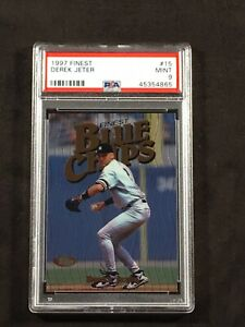 1997-Topps-Finest-Derek-Jeter-PSA-9-15-Blue-Chips-Hall-Of-Fame