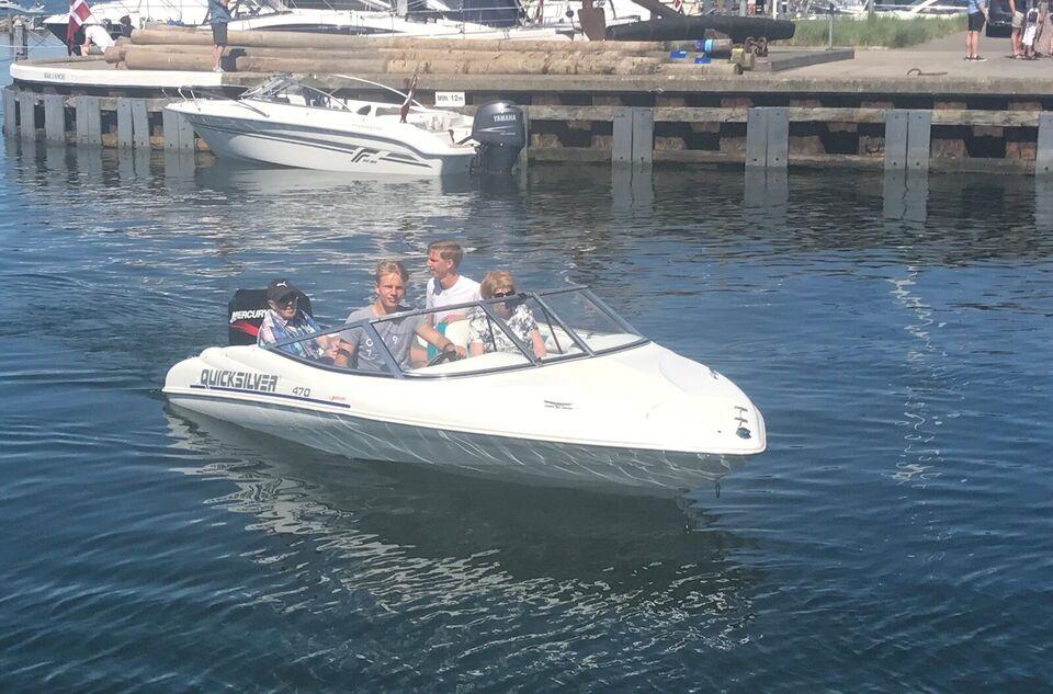 Quicksilver 470S, Speedbåd, årg. 1999