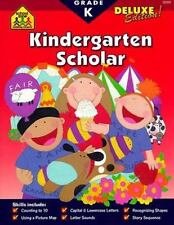 Kindergarten Scholar Scholar Books by School Zone Publishing Company Staff and Kathryn Riley (1999, Paperback, Deluxe)