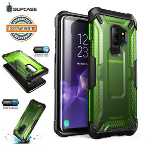 the best attitude fcc99 e1816 Details about Galaxy S9/S9 Plus SUPCASE Unicorn Beetle Hybrid Clear  Protective Case - Green